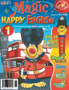 ob�lka �asopisu Magic Happy English