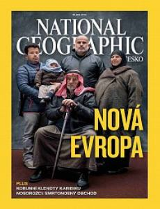 obálka èasopisu National Geographic